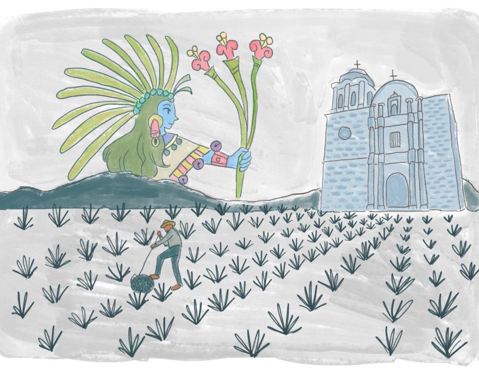 Mayahuel-leyenda-tequila