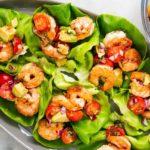 wrap de camarón receta para verano