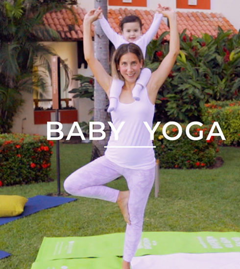 baby yoga at velas resorts