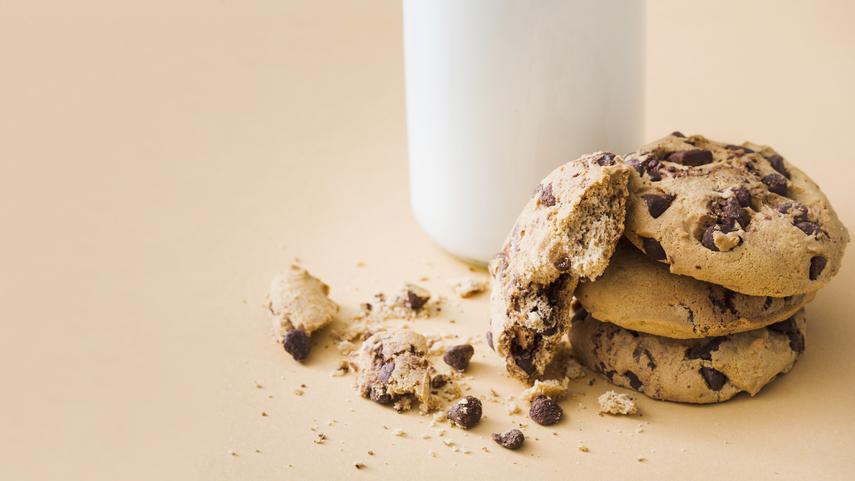 Aprende a hornear galletas con chispas de chocolate